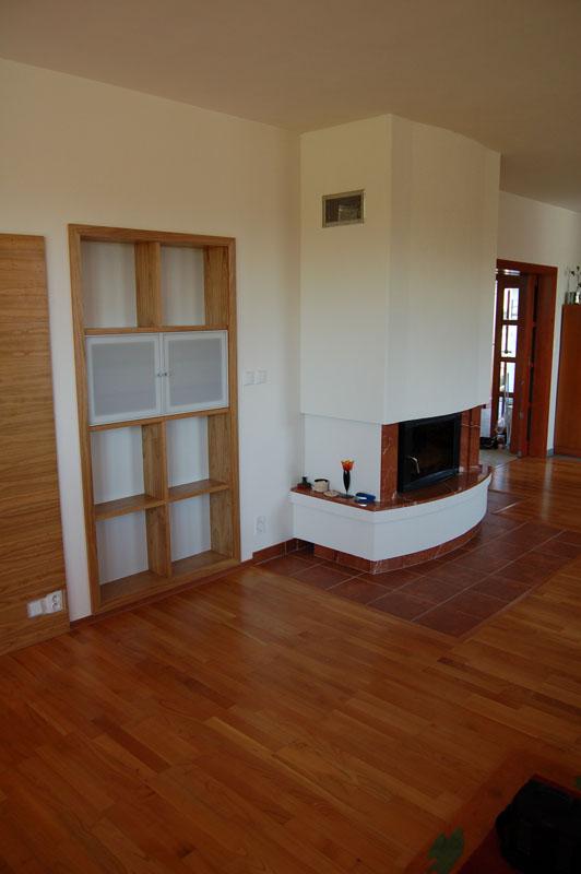 EK truhlářství obývací pokoje 17