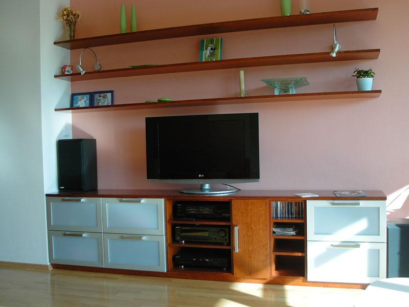 EK truhlářství obývací pokoje 3