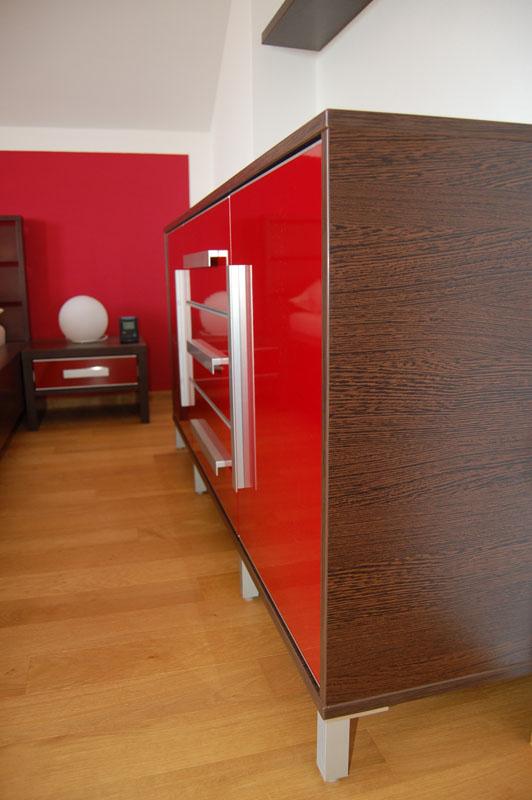 EK truhlářství obývací pokoje 8