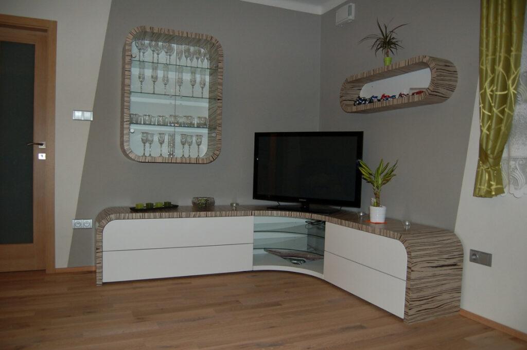 EK truhlářství obývací pokoje 27